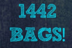 Since July 2013 - 1,442 bags have been handed out
