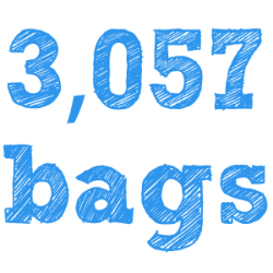 Since July 2013 - 3,057 bags have been handed out