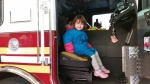 My sister Amelia wants to be a firefighter now